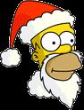 Santa Homer