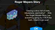 Roger Meyers Story notification