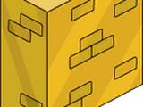 Solid Gold Brick Wall
