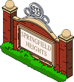 Springfield Heights Store Icon