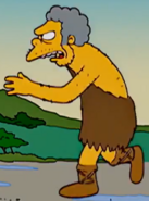 Caveman Moe in the show