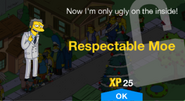 Tapped Out Respectable Moe New Character