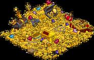 Burns Dragon's Pile of Treasure Menu