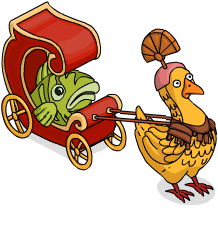 Chicken-pulled Chariot