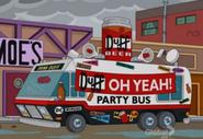 Duff Beer Party Bus