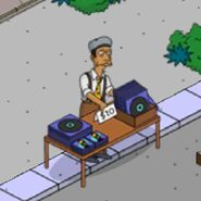 Marbles Le Marquez Selling Albums on the Corner (2)