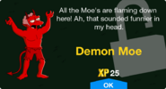Demon Moe unlock screen