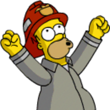 Homer fireman victory pose.png
