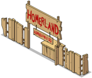 Homerland Admission Menu