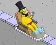 Honest Abe Getting a Spa Treatment (2)