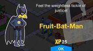 Fruit-Bat-Man Unlock Screen