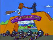 Itchy & Scratchy Land Grand Opening