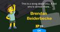 Brendan Beiderbecke Unlock Screen