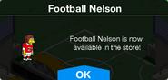 Football Nelson Available