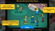 Who Shot Mr. Burns Part 3 Event Guide