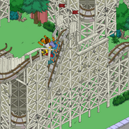 Zoominator Plunge with a cart rising