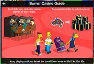 Burns Casino Act 1 Guide