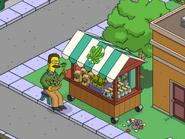 Ted Flanders Taking Lunch Break