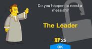 The Leader Unlock Screen