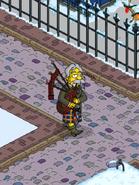 Old Tut Honoring Simpsons Heritage