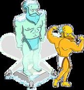Unlocked Prize Screen New God Mr. Burns