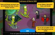 Treehouse of Horror XXX Event Guide