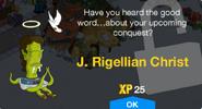 J. Rigellian Christ Unlock Screen
