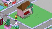 Rollerskate Smithers Shopping for Groceries