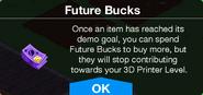 Future Bucks message