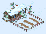 Tapped Out Christmas Cletus Farm