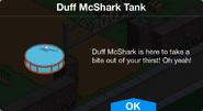 Duff McShark Tank notification