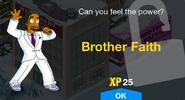 Brother Faith Unlock Screen