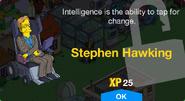 Stephen Hawking Unlock Screen