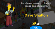 Dave Shutton Unlock Screen