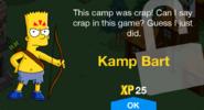 Kamp Bart Unlock Screen