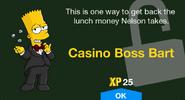 Casino Boss Bart unlock screen