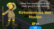 Kirkedemious Van Houten Unlock Screen
