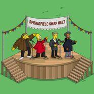Barney, Homer, Skinner & Apu Be Sharps Reunion