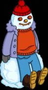 Homer Fever Snowman