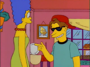Roy with Marge in the show