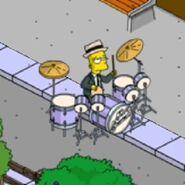 Tic Tock Simpson Doing Some Bionic Drumming (1)