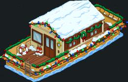 Christmas Houseboat