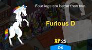 Furious D Unlock Screen