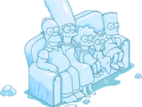Ice Sculpture Couch Gag Scene