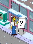 Jim Hope Brainstorming Original Ideas in front of Kid First Industries