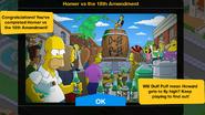 Homer v Amendment Ending