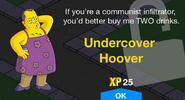 Undercover Hoover Unlock Screen
