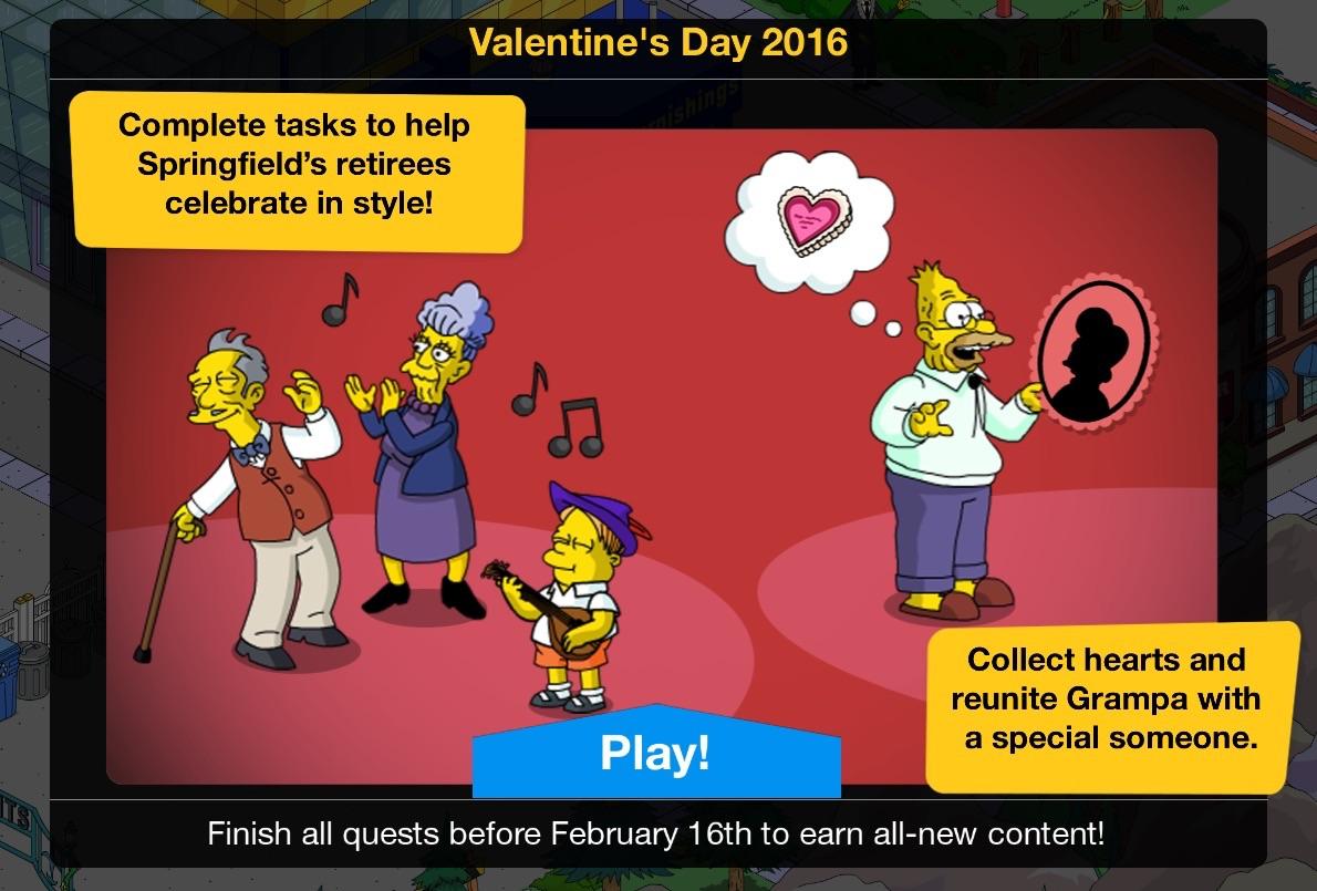 Valentine's Day 2016 Event