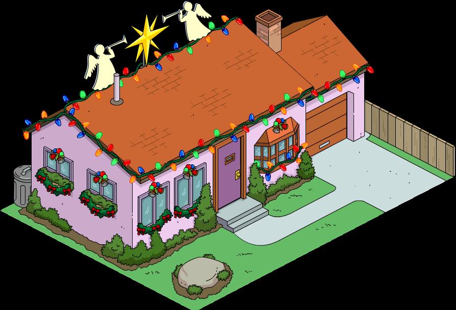 Christmas Van Houten Home