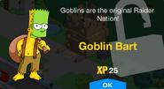 Goblin Bart Unlock Screen